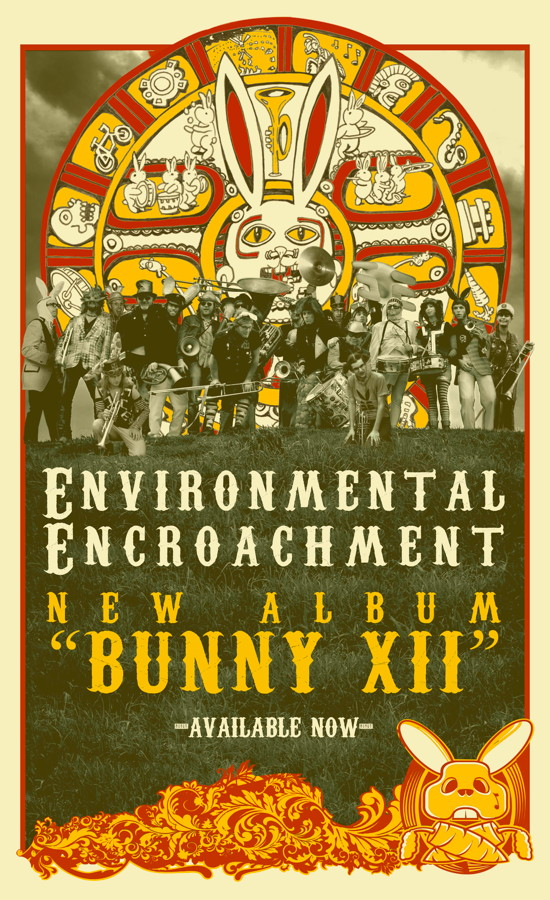 ee bunny 12 cd poster