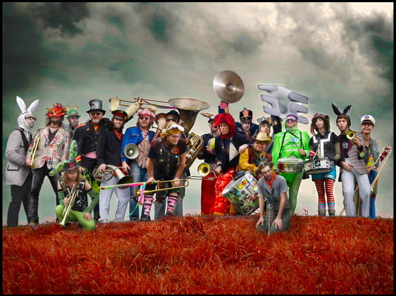ee environmental encroachment magic circus marching band