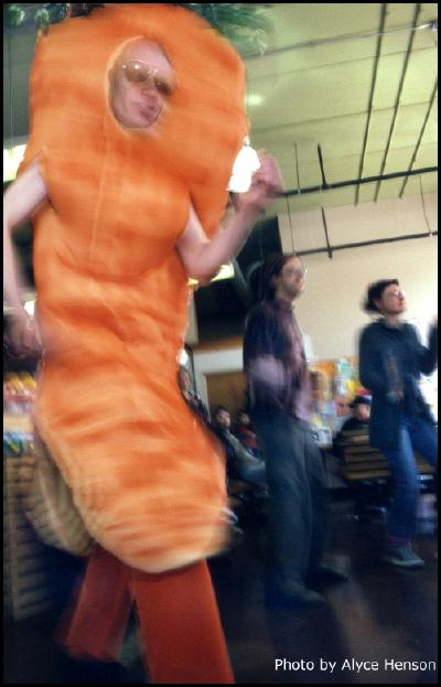 funky carrot earth day dance