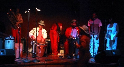 Club rhythm, chicago funk band EE
