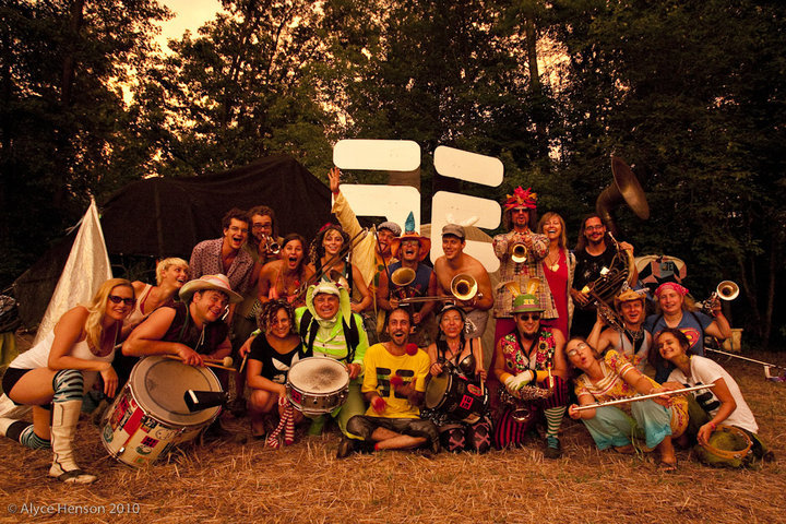 Land of NOD festival experiment, Michigan, 2010, EE group shot