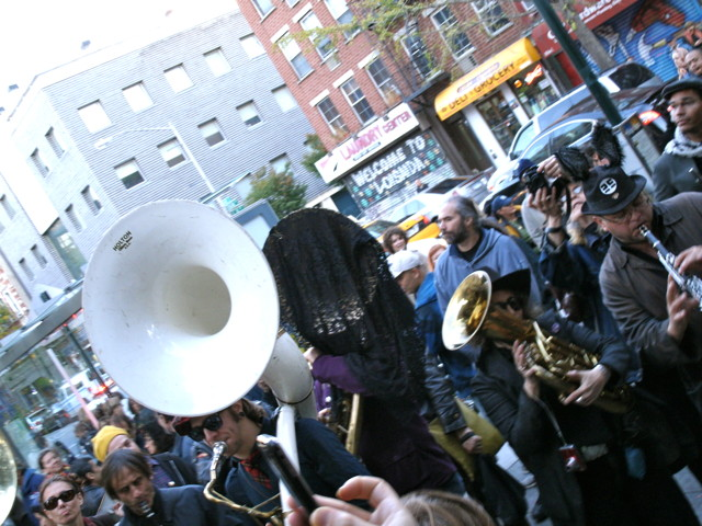 second line funeral band services, musical processions